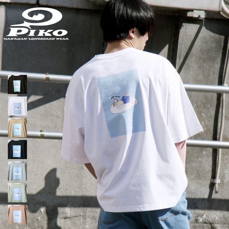Tシャツ/メンズ/メンズファッション/半袖/半袖Tシャツ/大きめ/イラストプリント/プリント/ビッグシルエット/オーバーサイズ/ピコ【pkm1438】   詳細画像