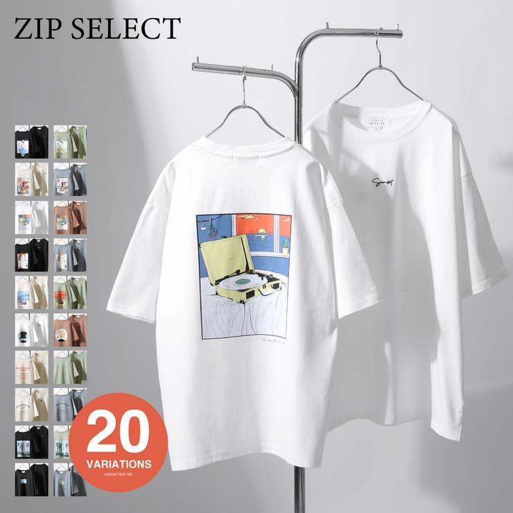 Tシャツ/メンズ/メンズファッション/カットソー/半袖Tシャツ/半袖/アソート/プリント/ロゴ/ビッグシルエット【t-1551027】 | 詳細画像