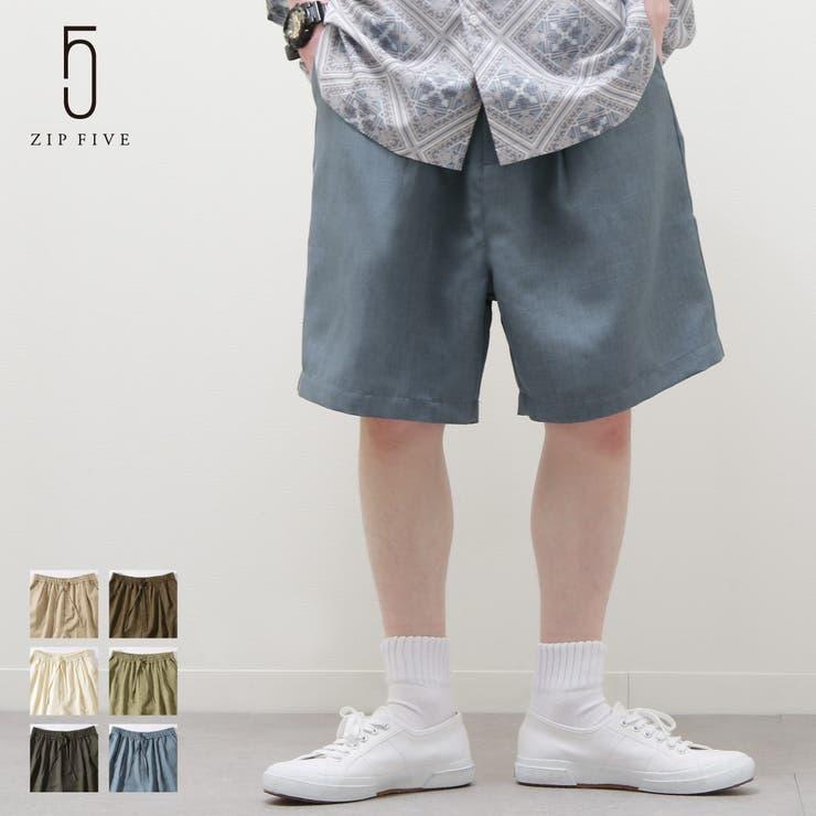 ショートパンツ メンズ ハーフパンツ   ZIP CLOTHING STORE   詳細画像1