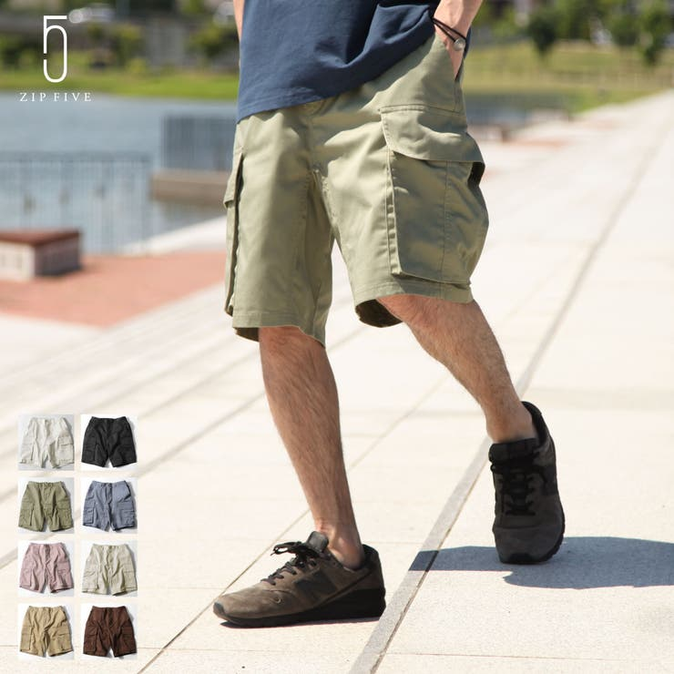 ショートパンツ/メンズ/メンズファッション/カーゴパンツ/カーゴショートパンツ/ワイドパンツ/ハーフパンツ/ワイドショーツ/アウトドア/イージーパンツ【121906bz】 | 詳細画像