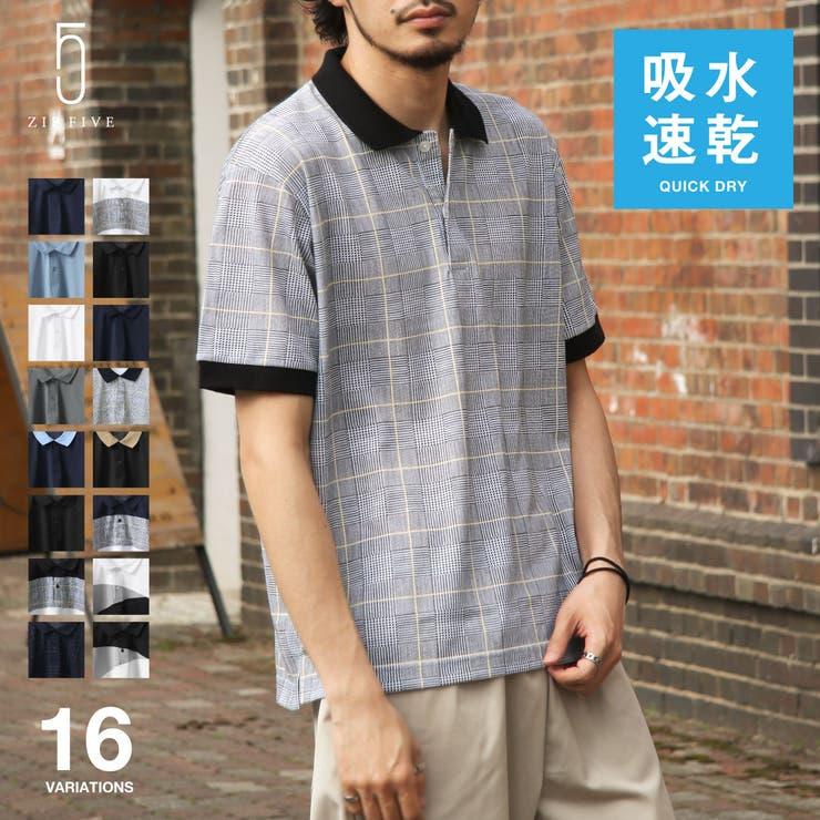 ポロシャツ メンズ 半袖   ZIP CLOTHING STORE   詳細画像1