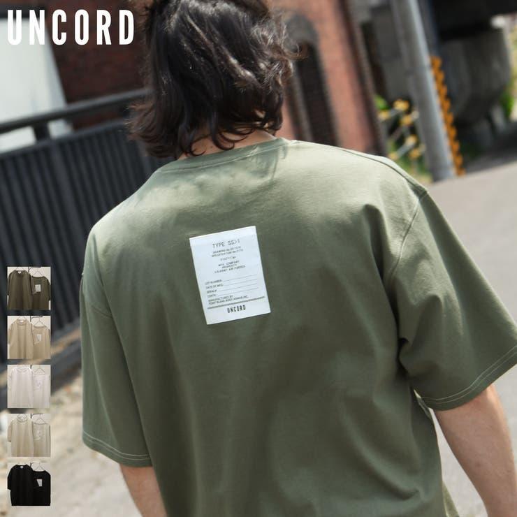 Tシャツ/メンズ/メンズファッション/カットソー/半袖/半袖Tシャツ/カラーステッチ/無地/バックタグ【21027-11gz】   詳細画像