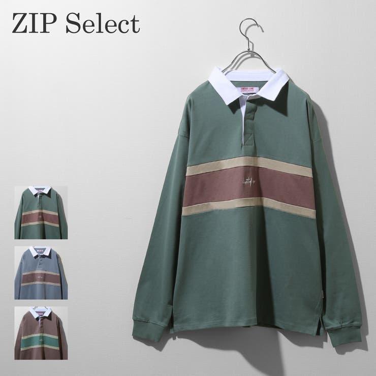 Tシャツ メンズ ラガーシャツ | ZIP CLOTHING STORE | 詳細画像1