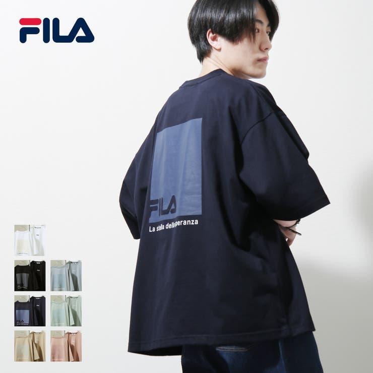 Tシャツ/メンズ/メンズファッション/カットソー/半袖/半袖Tシャツ/バックプリント/ビッグシルエット/ユニセックス/フィラ【fh7887】 | 詳細画像