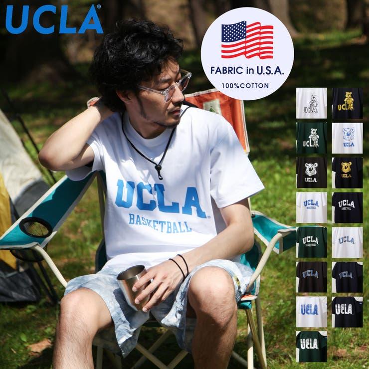 Tシャツ/メンズ/メンズファッション/カットソー/半袖/半袖Tシャツ/ロゴプリント/ロゴ刺繍/アソート/ビッグシルエット/UCLA/ユーシーエルエー【sk-ucla001】 | 詳細画像