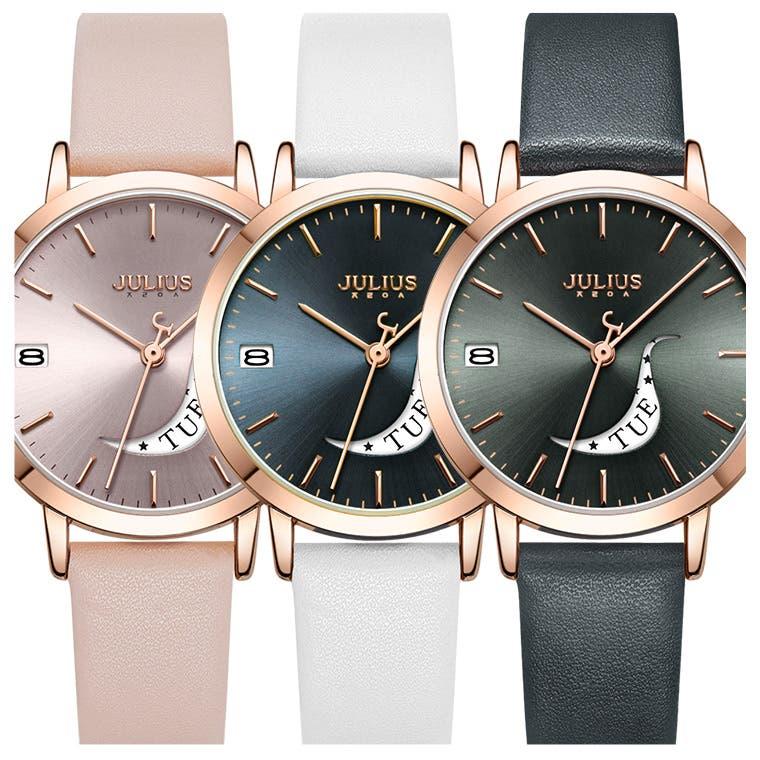 ★JULIUS★ エッジの効いた腕時計
