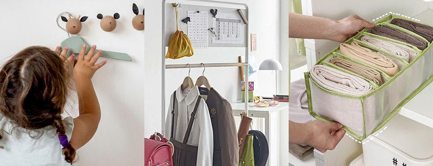 子供服・ベビー服の収納整理術!簡単&おしゃれな収納アイデアとおすすめ便利グッズ