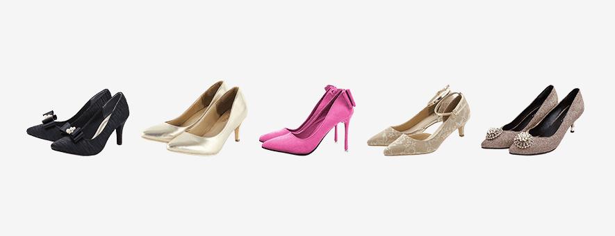結婚式のお呼ばれ靴・パンプスのマナーやNGは?ヒールの高さ・太さ・素材など選び方