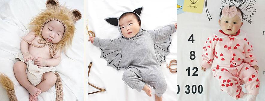 赤ちゃん寝相アートのアイディア集!おすすめグッズや作り方・撮影のコツも解説